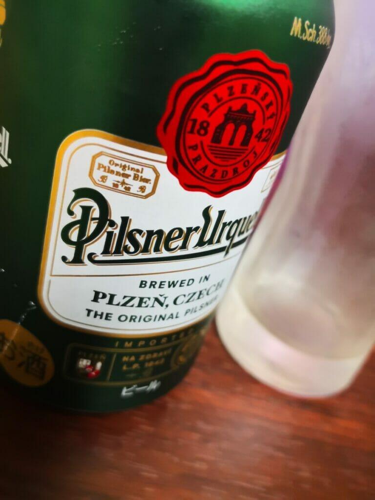 ピルスナーの缶画像