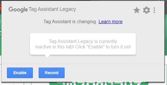 Tag Assistant Legacy